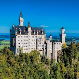 Neuschwanstein Castle by Pravine Chester - Buildings & Architecture Public & Historical ( building, bavaria, germany, castle, historical, architecture, neuschwantstein castle )