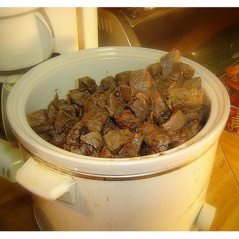 Crock Pot Deer Meat