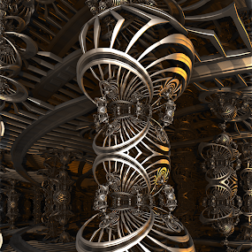 MB3D - 738 by Siniša Dalenjak - Illustration Abstract & Patterns ( mandelbulb, 3d, fractal )