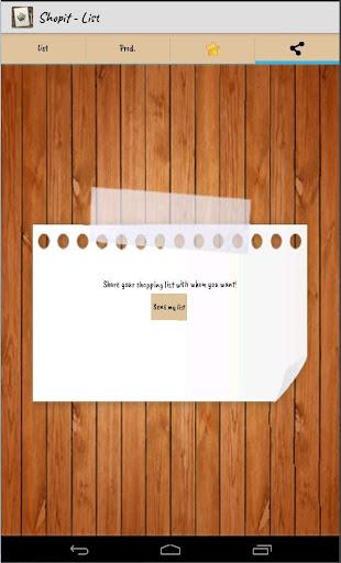 Shopit - List - screenshot