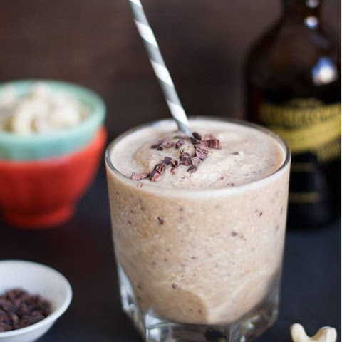 Coffee Cashew & Cacao Nib Protein Smoothie