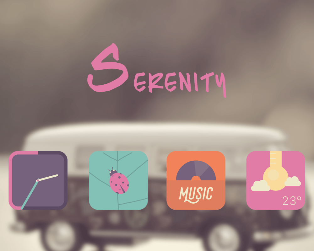 Serenity Icon Pack Screenshot 3