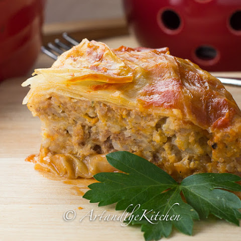 Ground Turkey Cabbage Roll Casserole