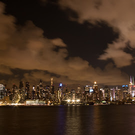 NY City Skyline by Werner Ennesser - Buildings & Architecture Architectural Detail
