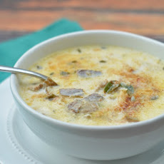 Cod and Smoked Oyster Chowder