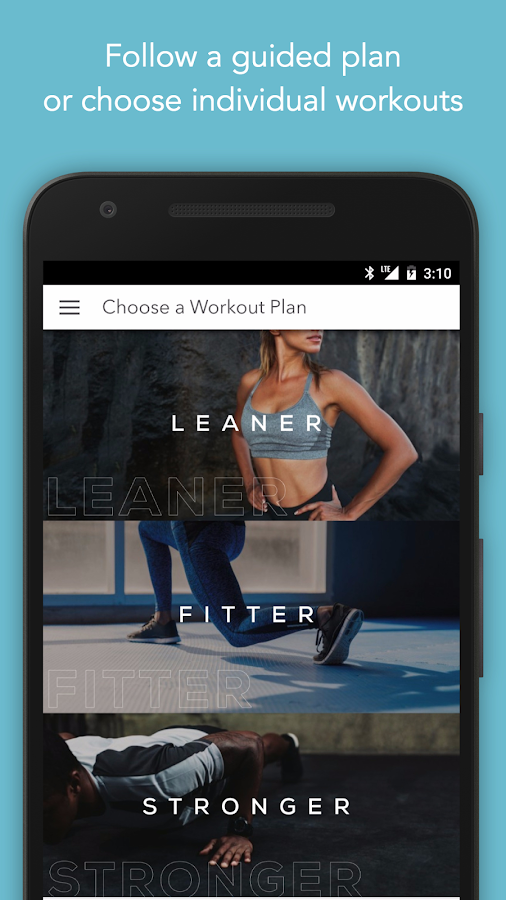 Sworkit Personalized Workouts Screenshot 2