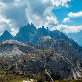 by Mario Horvat - Landscapes Mountains & Hills ( mountains, dolomites, clouds, peak, summit, dolomity, landscape )