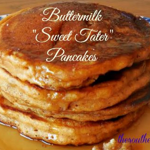 "BUTTERMILK ""SWEET TATER"" PANCAKES"