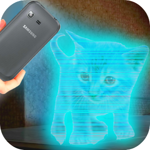 Cats 3D Hologram Simulator