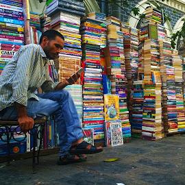 So Close, So Far by Kunal Pandya - People Street & Candids ( shop, books, people )