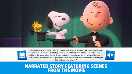 THE PEANUTS MOVIE OFFICIAL APP - screenshot