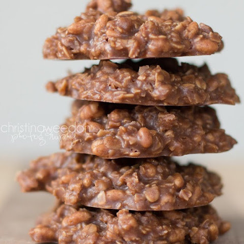Peanut Butter Chocolate No-Bake Cookies {gluten free, soy free, and vegan}