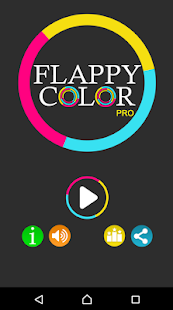 Flappy Color Pro - screenshot