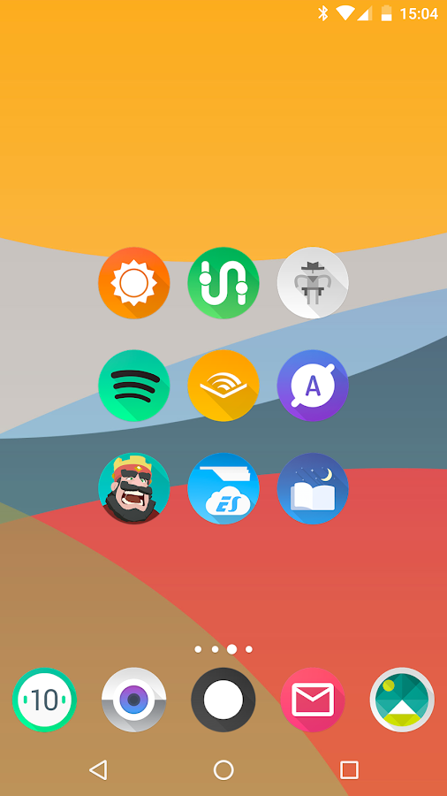 Aurora UI - Icon Pack Screenshot 1