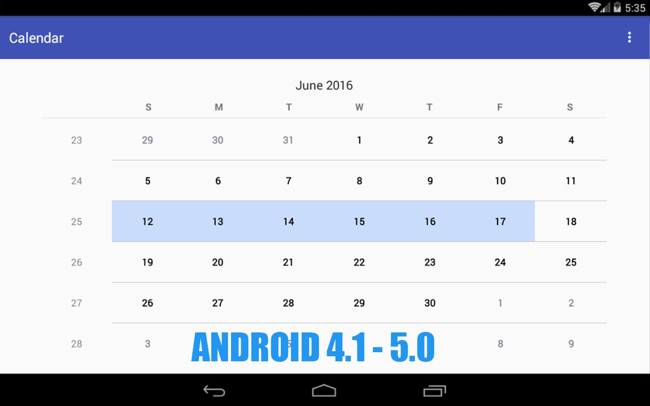 Simple Calendar Pro Screenshot 4