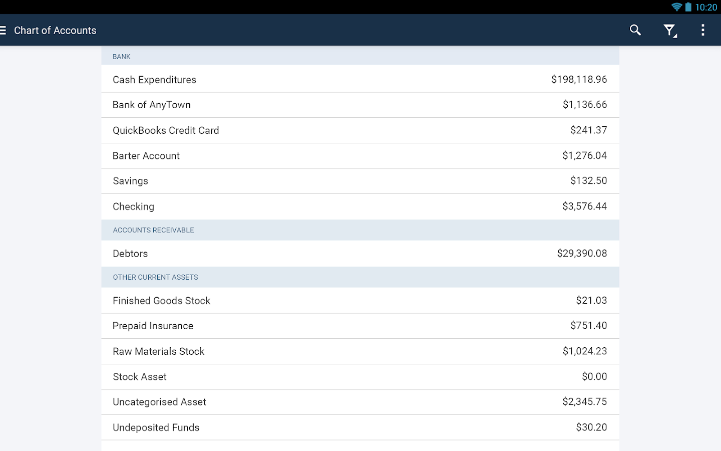 QuickBooks Accounting+Invoice Screenshot 13