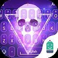 Free Flaming Skull Typany Theme APK for Windows 8
