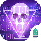 Free Flaming Skull Typany Theme APK for Windows 8