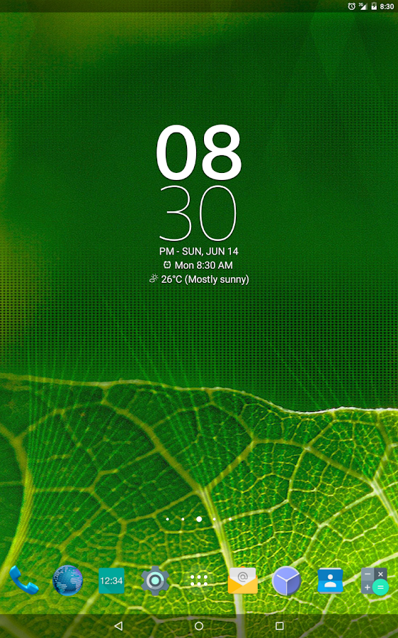 Digital Clock Widget Xperia Screenshot 12