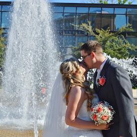 Beautiful day for a Amazing wedding by Rebekah Cameron - Wedding Bride & Groom