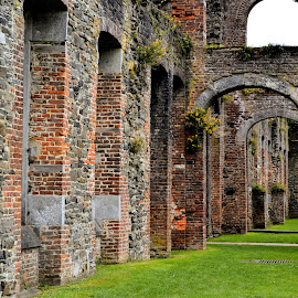 Abbey by Heather Aplin - Buildings & Architecture Decaying & Abandoned