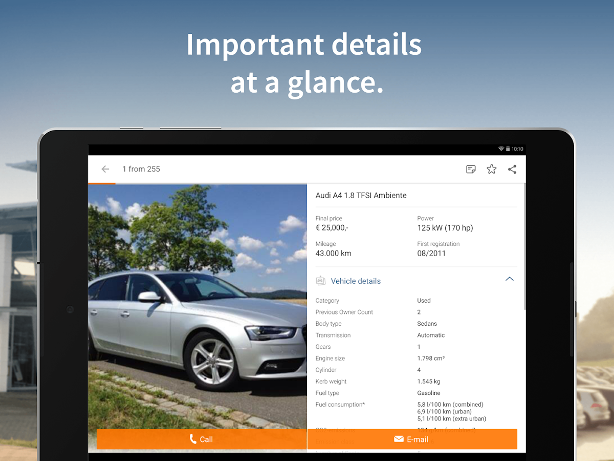 AutoScout24 - used car finder Screenshot 8