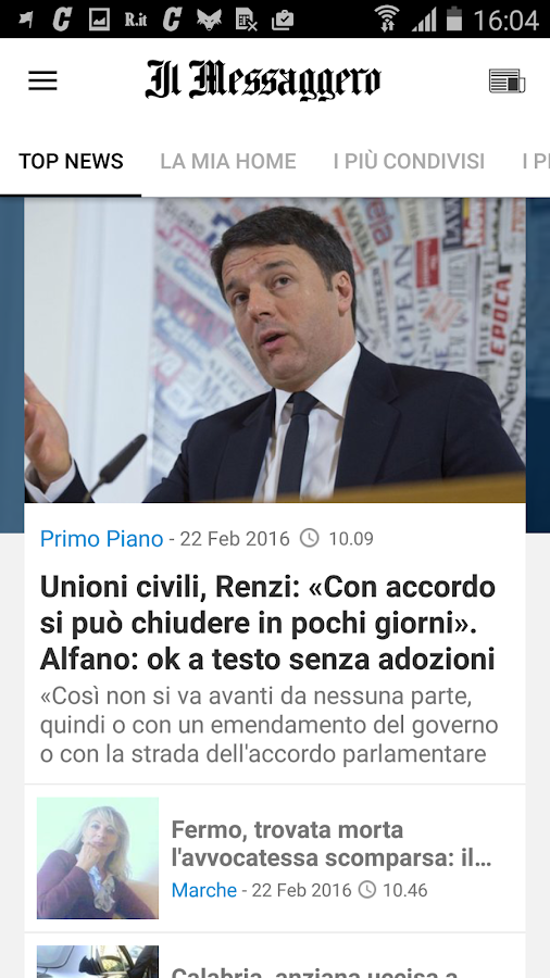 Il Messaggero Screenshot