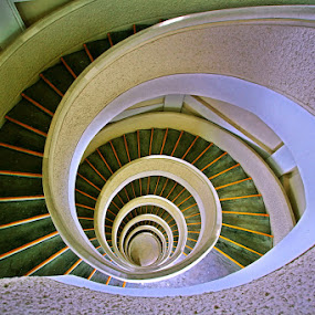 The Stair Labirin by Alit  Apriyana - Buildings & Architecture Other Interior ( stair, labirin, spiral )