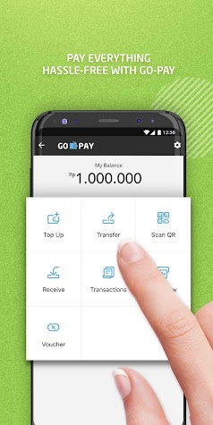 GO-JEK - Ojek Taxi Booking, Delivery and Payment Screenshot