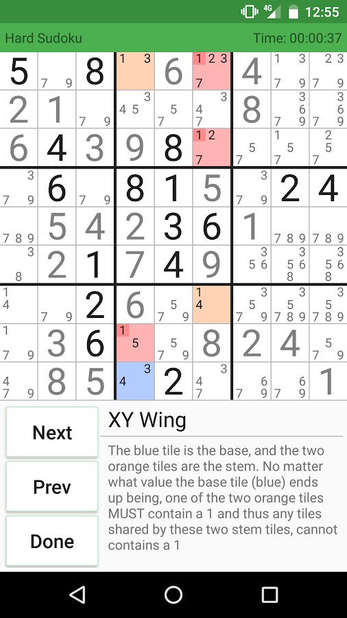 Supreme Sudoku Screenshot 2