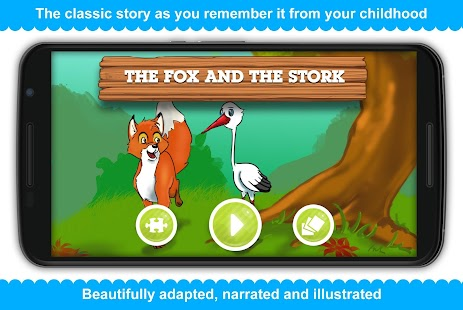 The Fox and the Stork - screenshot