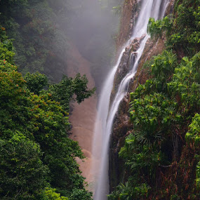 Paritohan Waterfall by Gusti Mhn - Landscapes Waterscapes