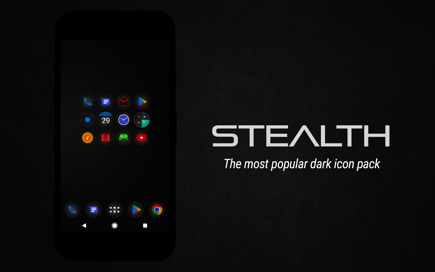Stealth Icon Pack Screenshot 11