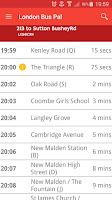 Screenshot of London Bus Pal Free
