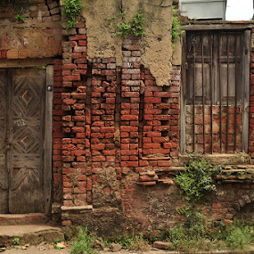 blocks by Subrata Chatterjee - Buildings & Architecture Decaying & Abandoned