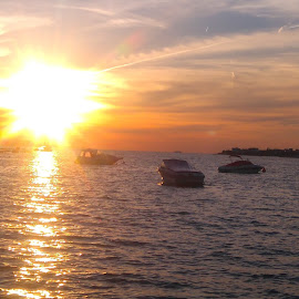 flaming sunset     plameni zalazak sunca by Zdenko Katanica - Instagram & Mobile Android ( flaming sunset, plameni zalazak sunca )