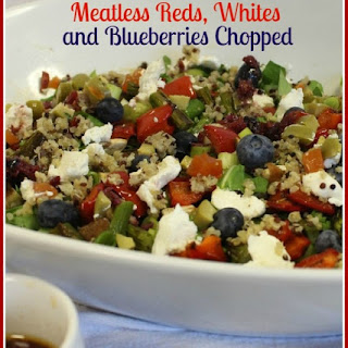 Red, White and Blueberry Chopped