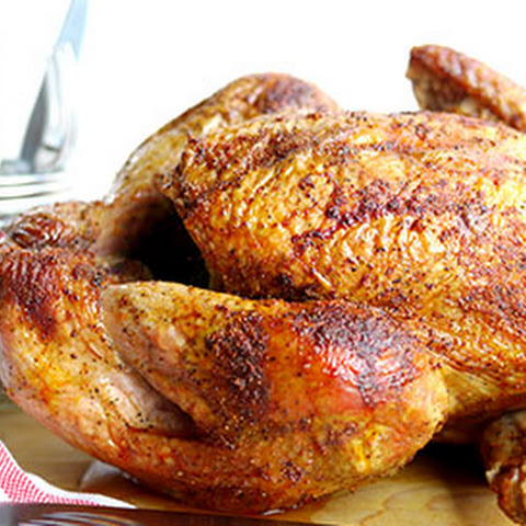 Juicy Smoked Paprika Turkey