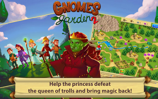 Gnomes Garden 2 HD - screenshot