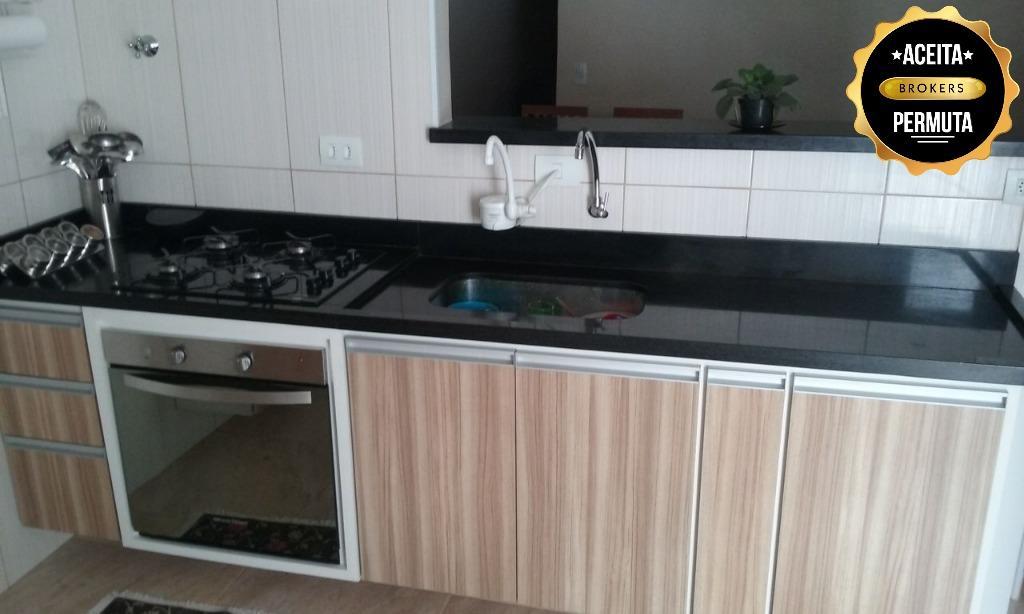 Sobrado com 3 dormitórios à venda, 186 m² por R$ 550.000 - Vila Palmares - Santo André/SP
