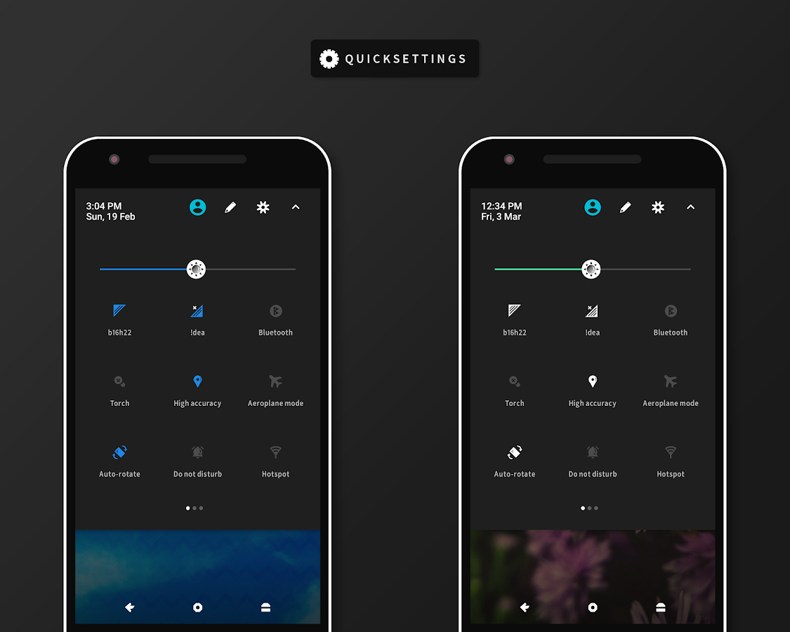 RubiQ Substratum Theme Screenshot 5