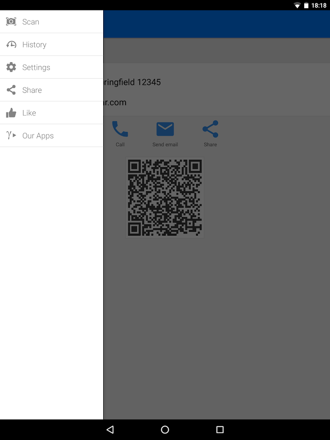 QR & Barcode Scanner PRO Screenshot 14