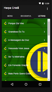 Harpa Cristã New Letras - screenshot