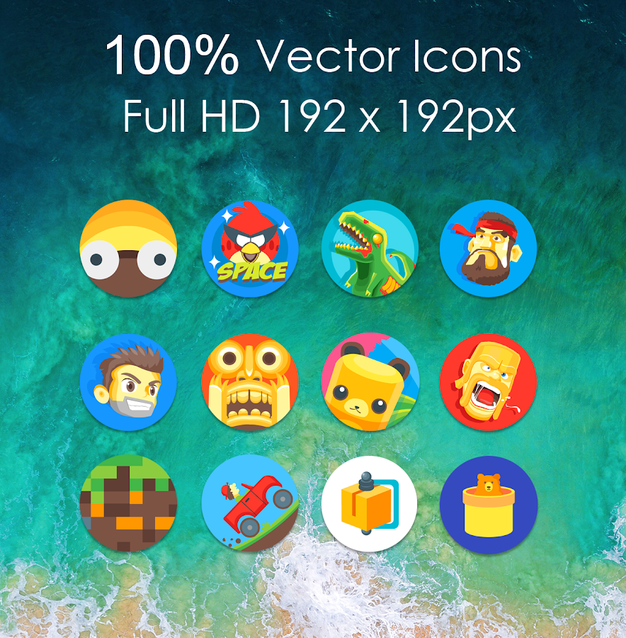 Oreo 8 - Icon Pack Screenshot 2