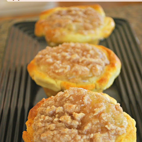 Apple Pie Muffins Using Crescent Rolls – Food Fun Friday