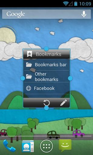 Bookmarks Widget screenshot 2