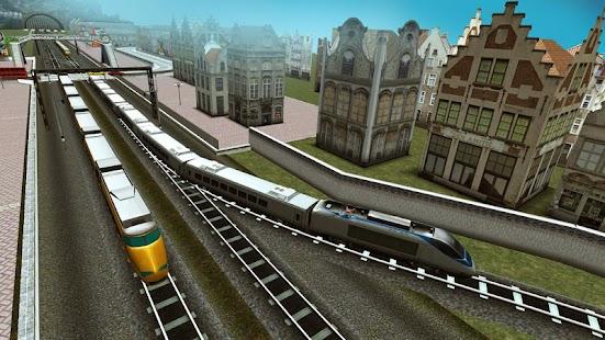 Euro Train Driving Games APK Descargar