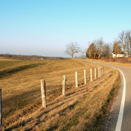 County Line. by Jim Dawson - Novices Only Landscapes