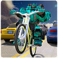 Robot Bicycle Traffic Rider APK Descargar