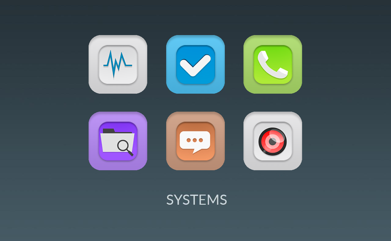 Harriet UI - Flat Icon Pack Screenshot 3